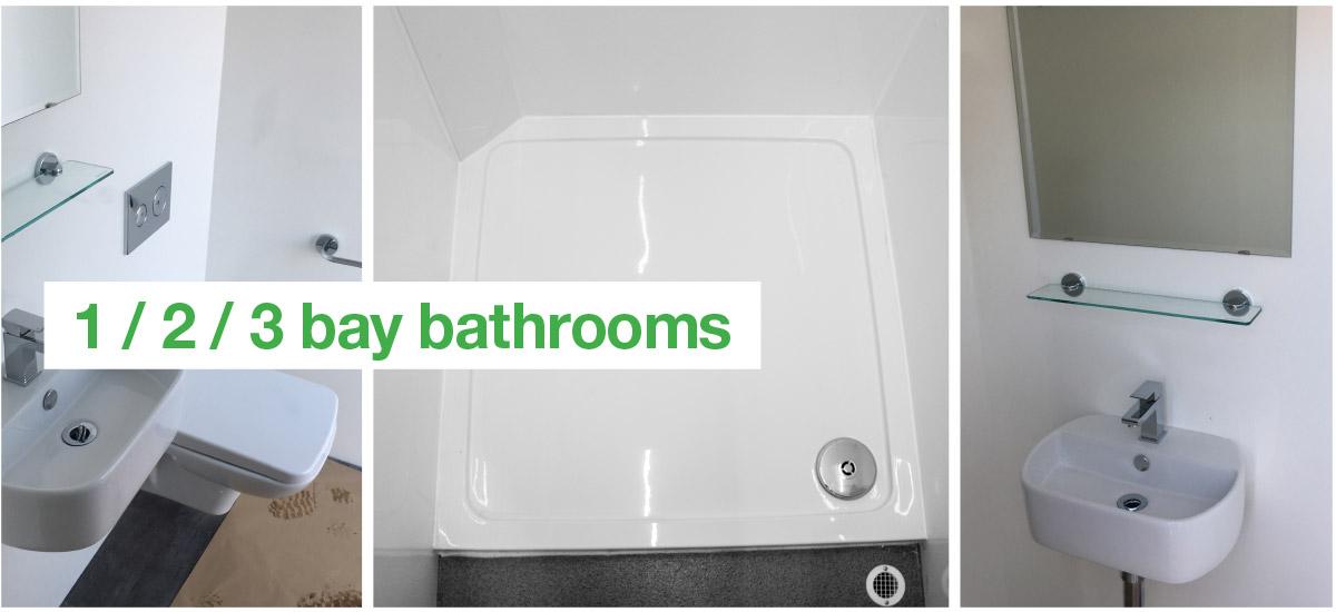 Bathroom, Sink & Toilet Unit   Temporary Home Bathrooms