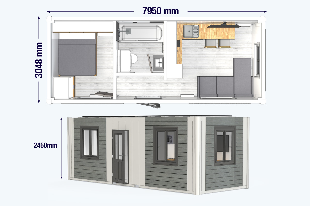mobile sleeper units