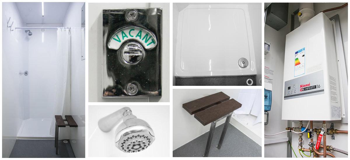 Construction Site Bathroom | Shower & Toilet Unit | EasyCabin
